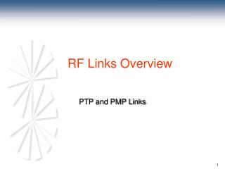 PTP and PMP Links