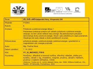 Fyzika 8