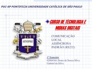 CURSO DE TÉCNOLOGIA E MIDIAS DIGITAIS