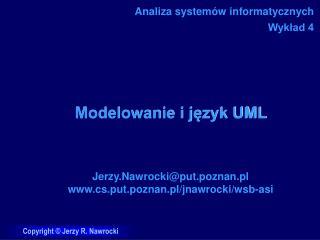 Modelowanie i język UML
