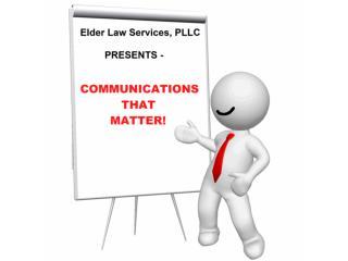 Communication That Matters