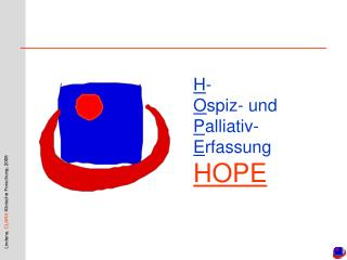 H - O spiz- und P alliativ- E rfassung HOPE