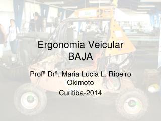 Ergonomia Veicular BAJA