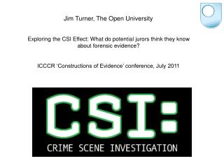 Jim Turner, The Open University