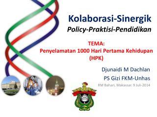 Kolaborasi-Sinergik Policy-Praktisi-Pendidikan