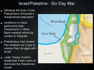 Israel/Palestine - Six-Day War