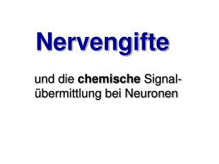 Nervengifte