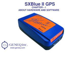 SXBlue II GPS