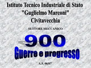 """Istituto Tecnico Industriale di Stato """"Guglielmo Marconi"""" Civitavecchia"""