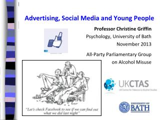 Advertising, Social Media and Young People