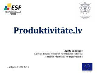 Produktivitāte.lv