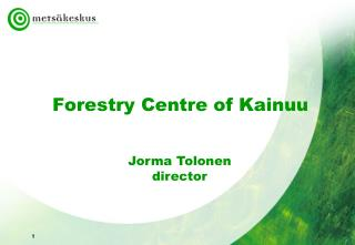 Forestry Centre of Kainuu