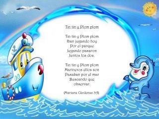 Tin tin y Plom plom Tin tin y Plom plom Iban jugando hoy Por el parque Jugando pasaron