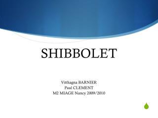 SHIBBOLET