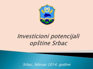 Investicioni potencijali opštine Srbac