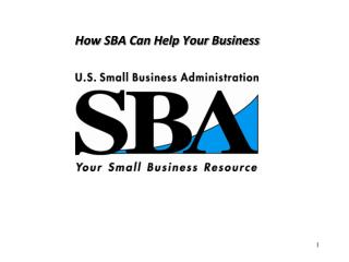 How SBA Can Help Your Business