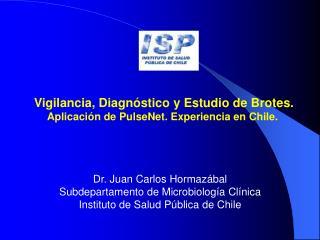 Vigilancia, Diagnóstico y Estudio de Brotes. Aplicación de PulseNet. Experiencia en Chile.