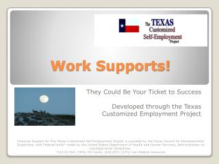 Work Supports!