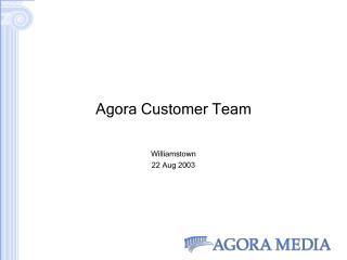 Agora Customer Team