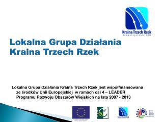 Lokalna Grupa Działania Kraina Trzech Rzek
