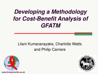 Developing a Methodology for Cost-Benefit Analysis of GFATM