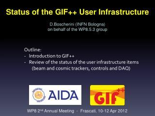 WP8 2 nd Annual Meeting - Frascati , 10-12 Apr 2012