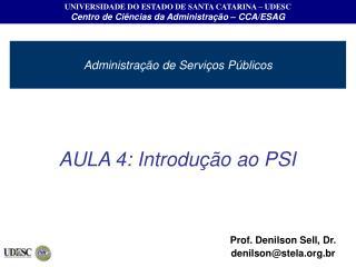 Administração de Serviços Públicos