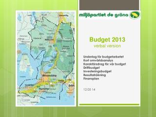 Budget 2013 verbal version