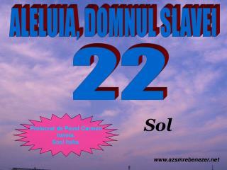 ALELUIA, DOMNUL SLAVEI