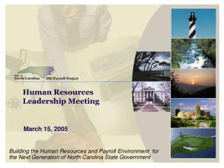 Human Resources Leadership Meeting