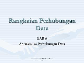 Rangkaian Perhubungan Data