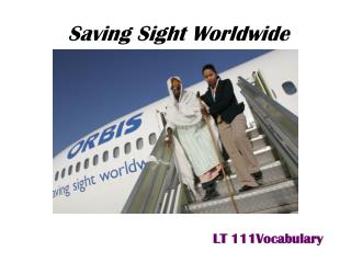 Saving Sight Worldwide