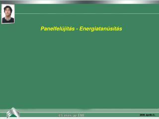 Panelfelújítás - Energiatanúsítás