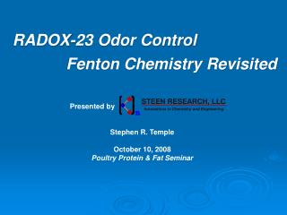RADOX-23 Odor Control