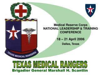 Medical Reserve Corps  NATIONAL LEADERSHIP & TRAINING CONFERENCE