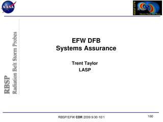 EFW DFB Systems Assurance