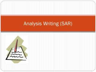Analysis Writing (SAR)