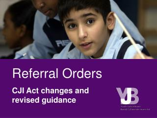 Referral Orders