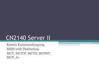 CN2140 Server II