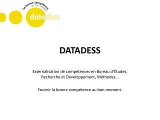 DATADESS