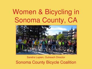 Women & Bicycling in Sonoma County, CA