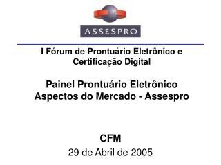 CFM 29 de Abril de 2005
