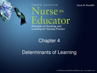 Chapter 4  Determinants of Learning