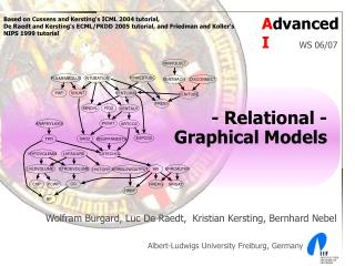 - Relational -  Graphical Models