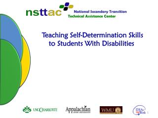 Teaching Self-Determination Skills  to Students With Disabilities