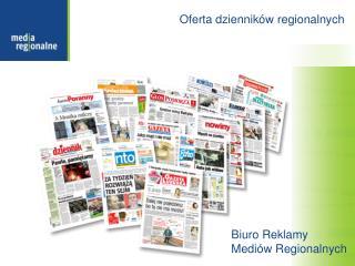 Oferta dzienników regionalnych