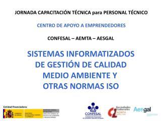 JORNADA CAPACITACIÓN TÉCNICA para PERSONAL TÉCNICO CENTRO DE APOYO A EMPRENDEDORES