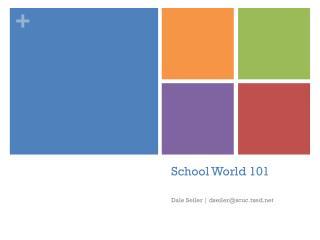 School World 101