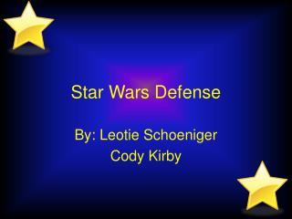Star Wars Defense