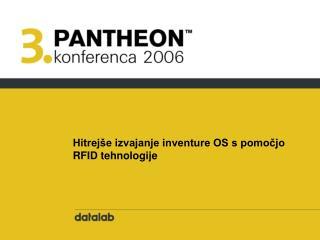 Hitrejše izvajanje inventure OS s pomočjo RFID tehnologije